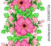 abstract elegance seamless... | Shutterstock .eps vector #253285726
