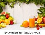 healthy vegetable juices for... | Shutterstock . vector #253297936