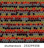 stained glass. mosaic colorful