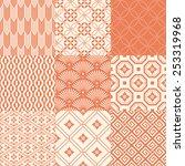 seamless japanese pattern | Shutterstock .eps vector #253319968