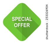 special offer flat icon   | Shutterstock . vector #253326904