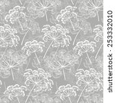 Monochrome Seamless Pattern Of...