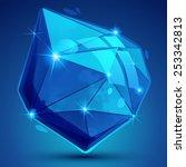 contemporary plastic pixel... | Shutterstock .eps vector #253342813
