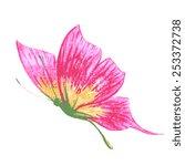 butterflies design | Shutterstock .eps vector #253372738
