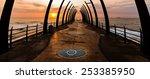 view of the indian ocean... | Shutterstock . vector #253385950