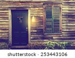 old rustic vintage antique... | Shutterstock . vector #253443106