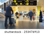 Small photo of Airline Passengers in an Airport