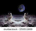Astronauts Spaceman Moon...