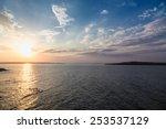 sea sky sunset sun landscape | Shutterstock . vector #253537129