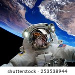 Astronaut In Outer Space...