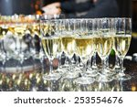 Catering Services. Glasses With ...