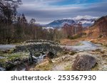 Ashness Bridge And Skiddaw In...