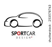 sportcar design | Shutterstock .eps vector #253578763