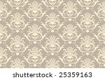 abstract vector seamless damask ...   Shutterstock .eps vector #25359163