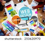 Web design content creative...