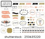 ultimate design elements blog... | Shutterstock .eps vector #253635220
