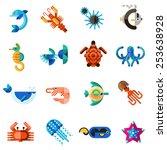 Sea Creatures Underwater Anima...