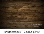 vector wood texture. background ... | Shutterstock .eps vector #253651240