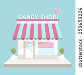 flat design vector illustration ... | Shutterstock .eps vector #253653226