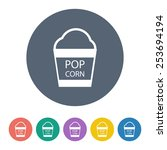 pop corn icon.