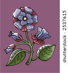 flower backgrounds series.... | Shutterstock .eps vector #2537615