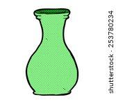retro comic book style cartoon...   Shutterstock .eps vector #253780234