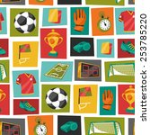 Sports Seamless Pattern With...