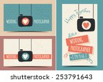 creative business card... | Shutterstock .eps vector #253791643