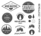 set of logo  labels  badges and ...   Shutterstock .eps vector #253793638