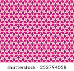 rhythm pink and purple color... | Shutterstock .eps vector #253794058