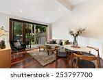 beautiful living room... | Shutterstock . vector #253797700
