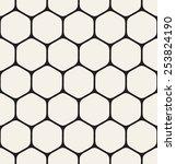 vector seamless pattern. modern ... | Shutterstock .eps vector #253824190