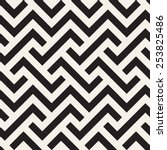 geometric seamless pattern.... | Shutterstock .eps vector #253825486