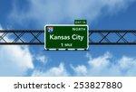 Kansas City Usa Interstate...