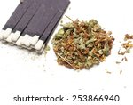 medical marijuana  | Shutterstock . vector #253866940