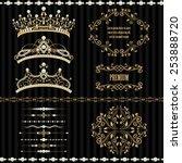 Royal Design Elements  Vintage...
