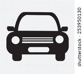 car icon   Shutterstock .eps vector #253950130