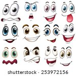 illustration of different... | Shutterstock .eps vector #253972156