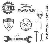 set of logo  badge  emblem and... | Shutterstock .eps vector #253989508
