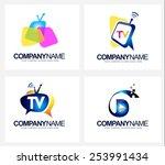 creative tv broadcast logo....