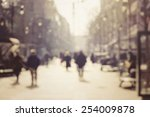 blur abstract people background   Shutterstock . vector #254009878