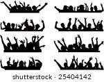 push your hands up 2   Shutterstock .eps vector #25404142