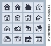 resident icons | Shutterstock .eps vector #254050168