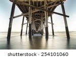 Newport Beach Under Pier