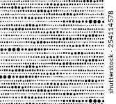 random hand drawn dot pattern... | Shutterstock .eps vector #254114578
