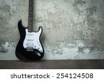 Electric Guitar Near The...