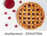 Raspberry Pie With Fresh...
