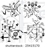 high tech elements  easy to use ...   Shutterstock .eps vector #25415170