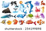 illustration of different kind... | Shutterstock .eps vector #254199898