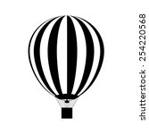 Hot Air Balloon In The Sky....